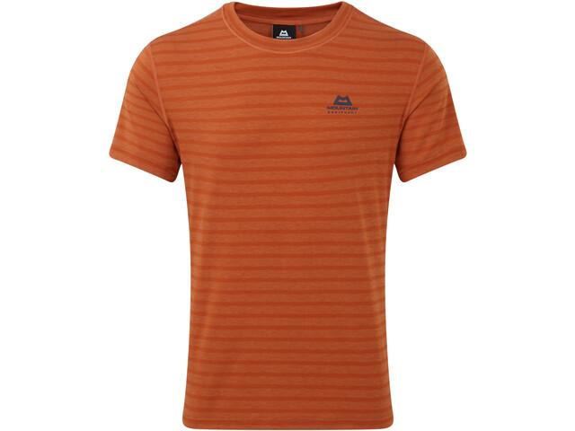 Mountain Equipment Groundup Camiseta Hombre, bracken stripe
